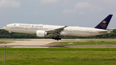 HZ-AK33 - Boeing 777-3FGER - Saudi Arabian Airlines