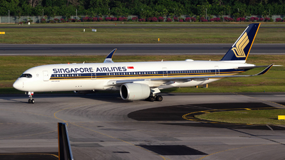 9V-SGD - Airbus A350-941 - Singapore Airlines