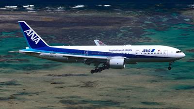 JA709A - Boeing 777-281(ER) - All Nippon Airways (ANA)