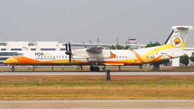 A picture of HSDQG - De Havilland Canada Dash 8400 - Nok Air - © Jaruphat Tonthongkam
