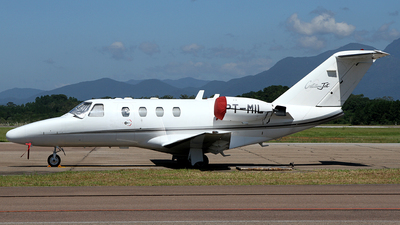 A picture of PTMIL - Cessna 525 CitationJet CJ1 - [5250086] - © Bruno Orofino