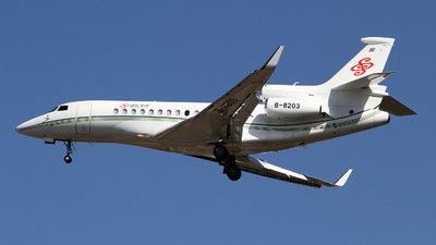 B-8203 - Dassault Falcon 7X - Deer Jet