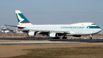 B-HUO - Boeing 747-467F(SCD) - Cathay Pacific Cargo