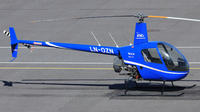 LN-OZN - Robinson R22 Beta II - European Helicopter Center (EHC)