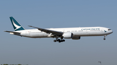 B-KQE - Boeing 777-367ER - Cathay Pacific Airways