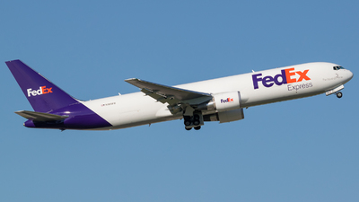A picture of N185FE - Boeing 767300F(ER) - FedEx - © Positive Rate Photography