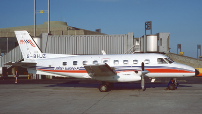 G-BHJZ - Embraer EMB-110P2 Bandeirante - Jersey European Airways
