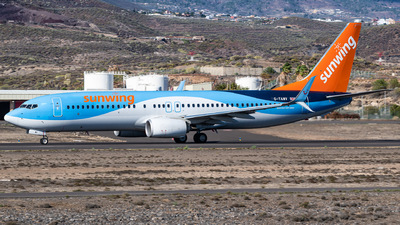 A picture of GTAWV - Boeing 7378K5 - TUI fly - © Gaetan De Meyer