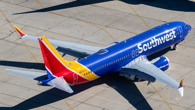 A picture of N8721J - Boeing 737 MAX 8 - Southwest Airlines - © Alex Crail