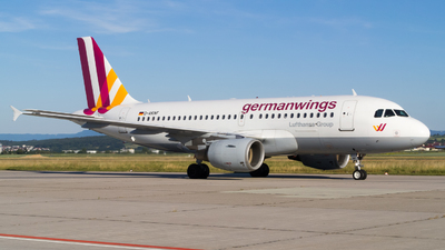 D-AKNF - Airbus A319-112 - Germanwings