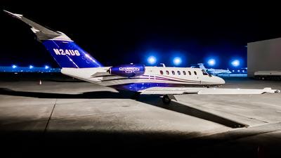 N24UG - Cessna 525B CitationJet 3+ - Private