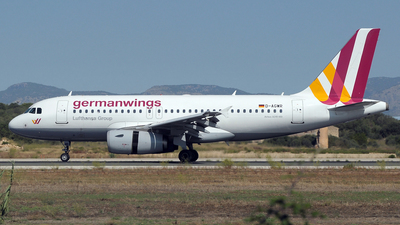 D-AGWR - Airbus A319-132 - Germanwings