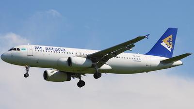 P4-UAS - Airbus A320-232 - Air Astana
