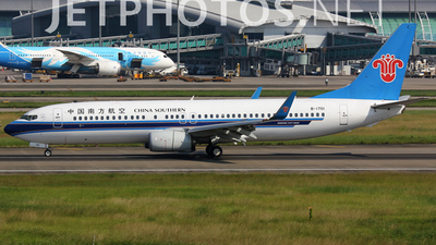 B-1701 - Boeing 737-86N - China Southern Airlines
