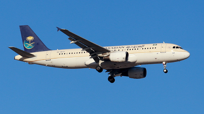 HZ-AS37 - Airbus A320-214 - Saudi Arabian Airlines