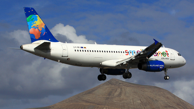 LY-SPJ - Airbus A320-233 - Small Planet Airlines