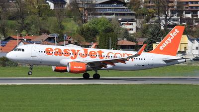G-EZOA - Airbus A320-214 - easyJet