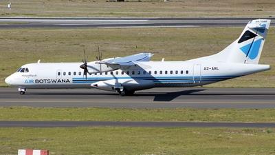 A2-ABL - ATR 72-212A(600) - Air Botswana