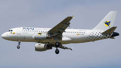 XY-ALK - Airbus A319-115 - Myanmar Airways International (MAI)
