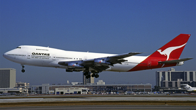 VH-EBA - Boeing 747-238B - Qantas