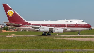 VP-BAT - Boeing 747SP-21 - Qatar - Amiri Flight