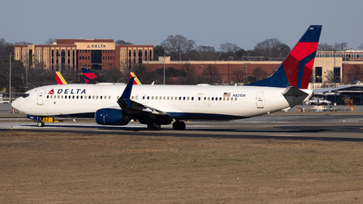 A picture of N821DN - Boeing 737932(ER) - Delta Air Lines - © JinZi