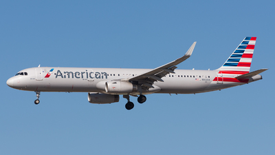 N163AA - Airbus A321-231 - American Airlines