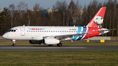 A picture of RA89092 - Sukhoi Superjet 10095LR - Yamal Airlines - © Malyshev Andrei