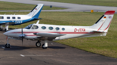 A picture of DITFA - Cessna 340A - [340A0546] - © Maik Voigt