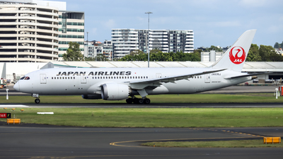 JA838J - Boeing 787-8 Dreamliner - Japan Airlines (JAL)