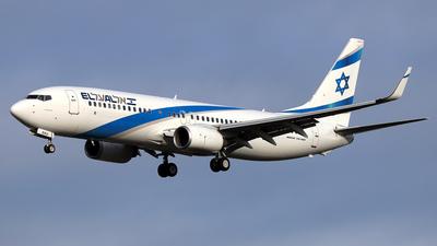 A picture of 4XEKU - Boeing 7378Z9 - El Al - © Daniel Klein