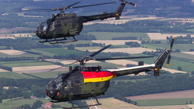 86-33 - MBB Bo105M - Germany - Army