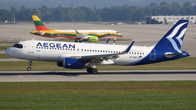 A picture of SXDND - Airbus A320232 - Aegean Airlines - © Frank Specker