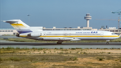 F-GGGR - Boeing 727-2H3(Adv) - EAS Europe Airlines