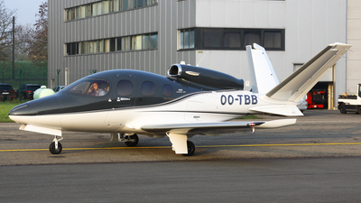 OO-TBB - Cirrus Vision SF50 G2 - Private