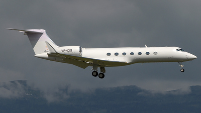 VP-CGI - Gulfstream G550 - TAG Aviation