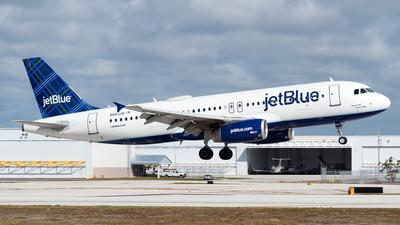 N663JB - Airbus A320-232 - jetBlue Airways