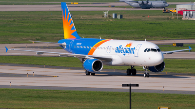 A picture of N287NV - Airbus A320214 - Allegiant Air - © Gautham Kurup