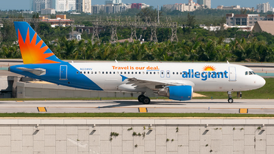 A picture of N224NV - Airbus A320214 - Allegiant Air - © Mark Lawrence