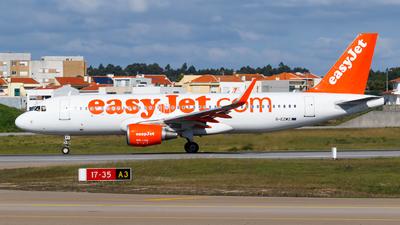 G-EZWZ - Airbus A320-214 - easyJet