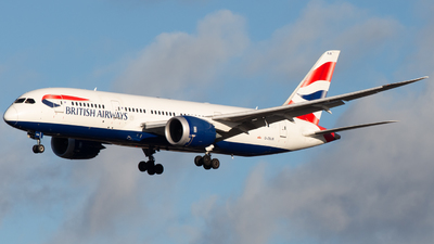 G-ZBJB - Boeing 787-8 Dreamliner - British Airways