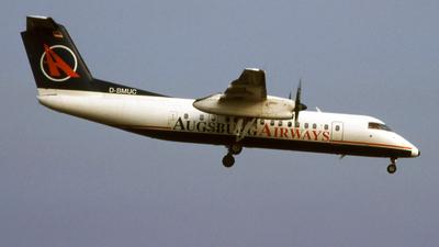 D-BMUC - Bombardier Dash 8-314 - Augsburg Airways