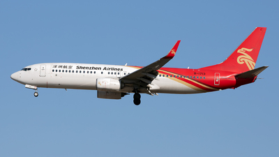 A picture of B1713 - Boeing 73787L - Shenzhen Airlines - © Nanjo_Rippile