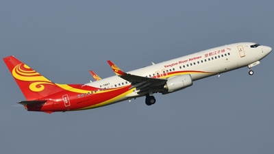 B-7887 - Boeing 737-8XY - Yangtze River Airlines