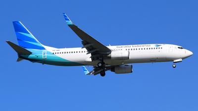 A picture of PKGMG - Boeing 7378U3 - Garuda Indonesia - © M. Raykahn Ariga
