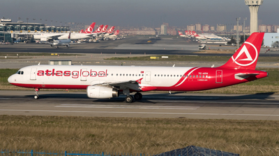 TC-ATH - Airbus A321-231 - AtlasGlobal