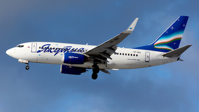 A picture of VPBIO - Boeing 7377CT - Yakutia Airlines - © Fedor Kabanov