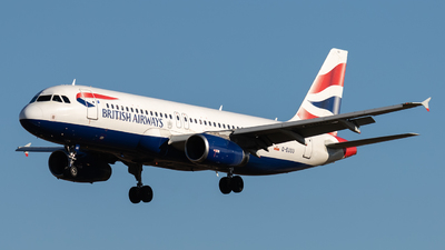 G-EUUU - Airbus A320-232 - British Airways