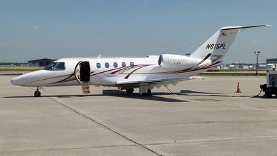 N615PL - Cessna 525C CitationJet 4 - Private