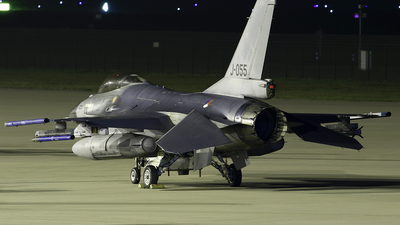 J-055 - General Dynamics F-16AM Fighting Falcon - Netherlands - Royal Air Force